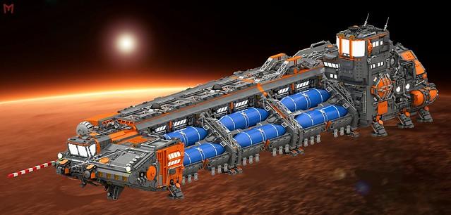 "Interplanetary Fuel Freighter ""Khreton"""