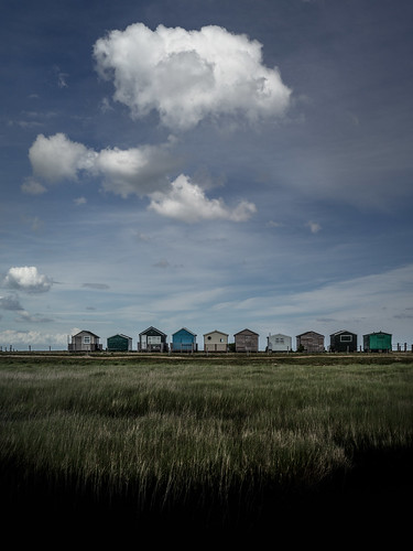 I wandered lonely as a beach hut