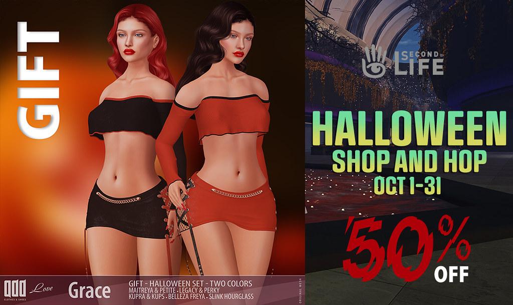 Halloween Shop & Hop OPEN! 50% OFF