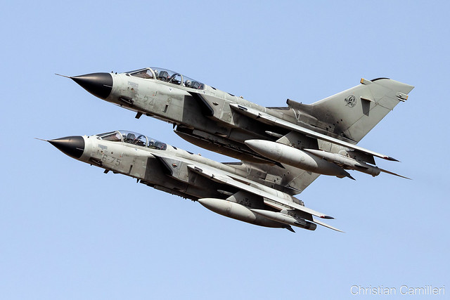 Italian Air Force - Panavia Tornado IDS 'MM7013 & MM7064' LMML - 27.09.2021