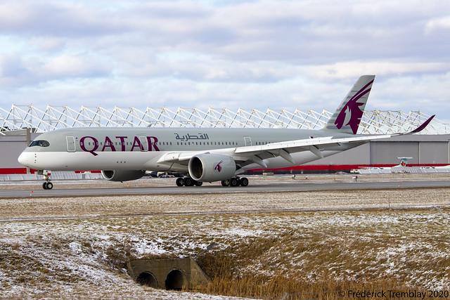 Qatar Airways / Airbus A350-941 / A7-AML / YUL