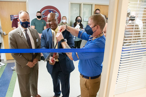Military Aligned Student Center Ribbon Cutting