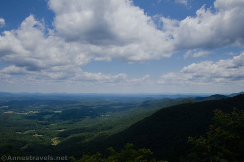 Views from the second viewpoint, Fred Clifton Park, Lover's Leap, Virginia