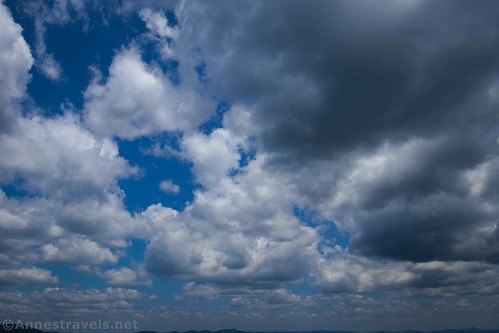 Clouds over the Blue Ridge Mountains, Lover's Leap, Virginia