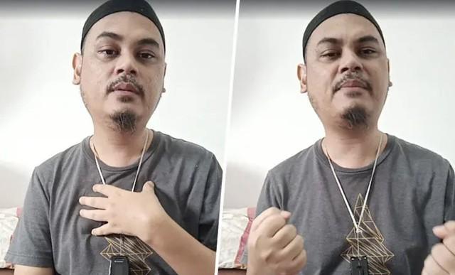 Pernah Bergelar Antivaksin, Abang Arwah Siti Sarah Mohon Maaf Pada Frontliners