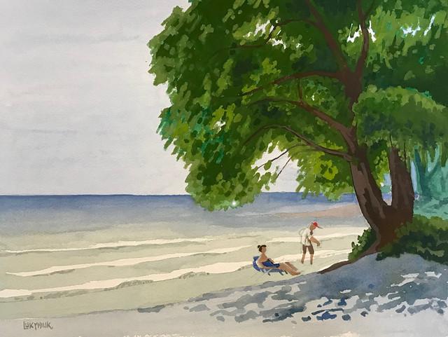 Prince Edward County beach