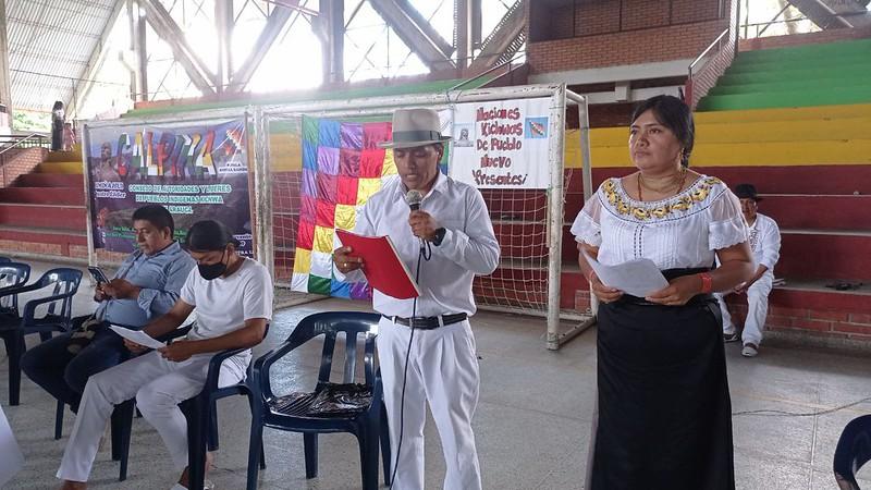 Encuentro Nación Kichwa Aracua