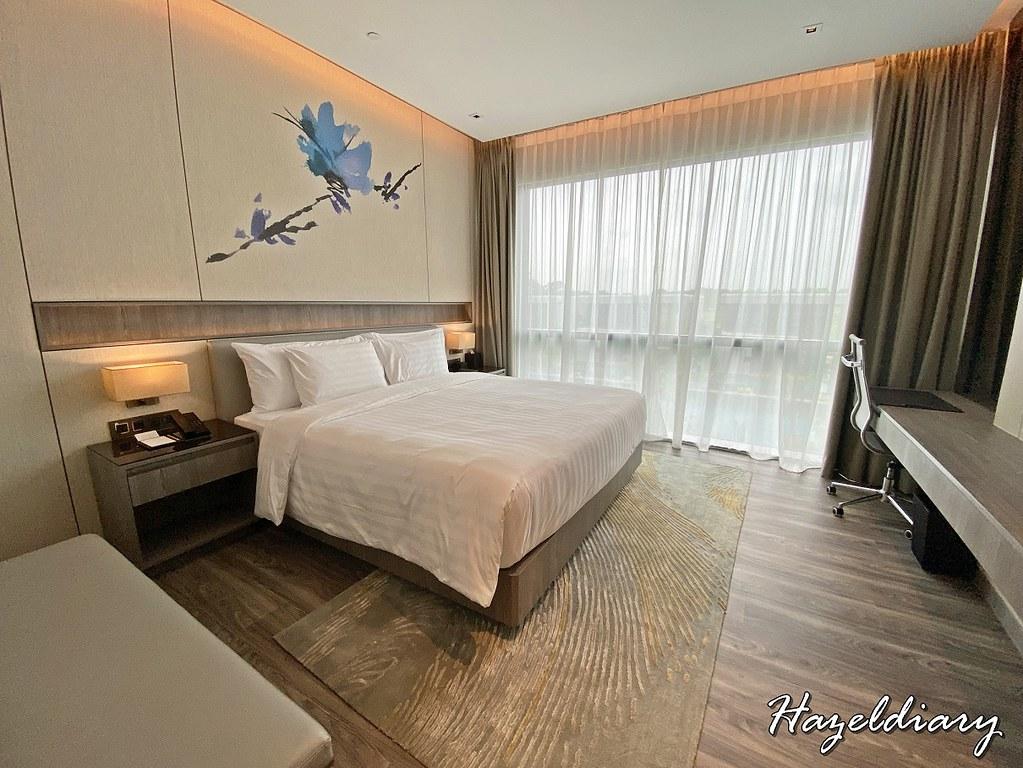 dusit thani laguna singapore hotel room