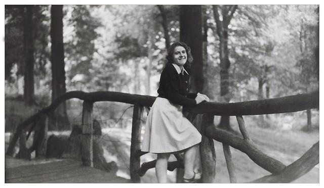 Bois de la Cambre / Bruxelles / Belgique le 27-8-1946
