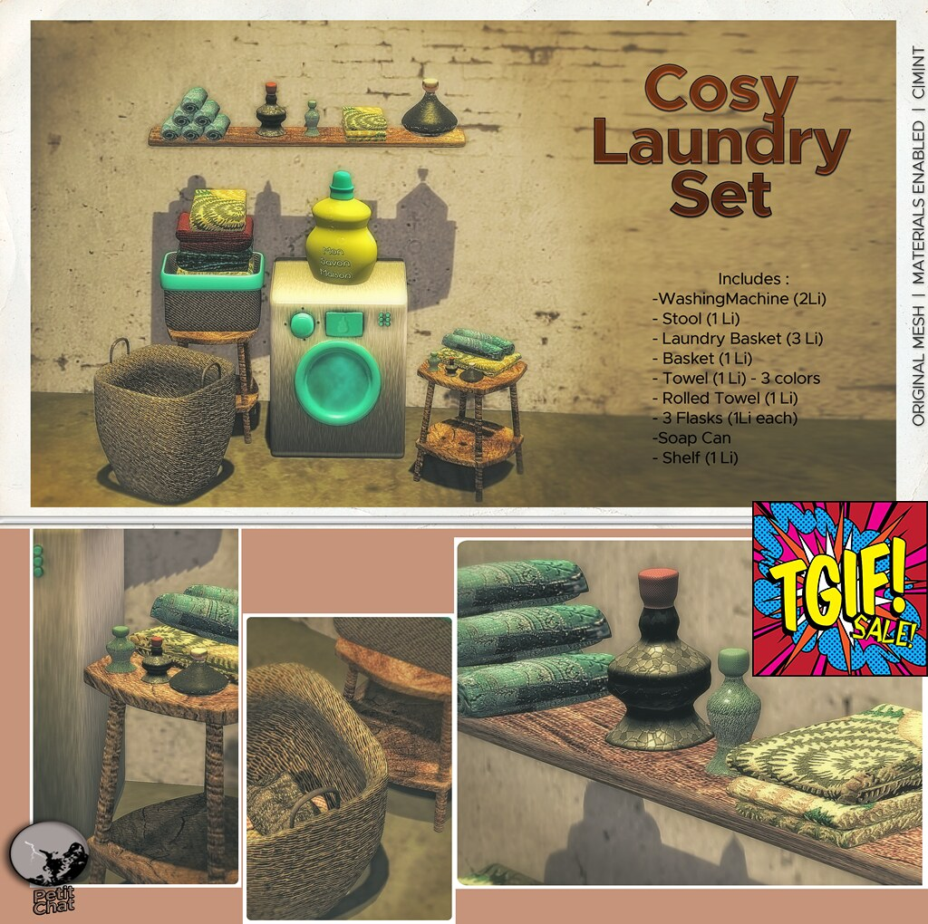 Petit Chat : Cosy Laundry Set @ TGIF sales