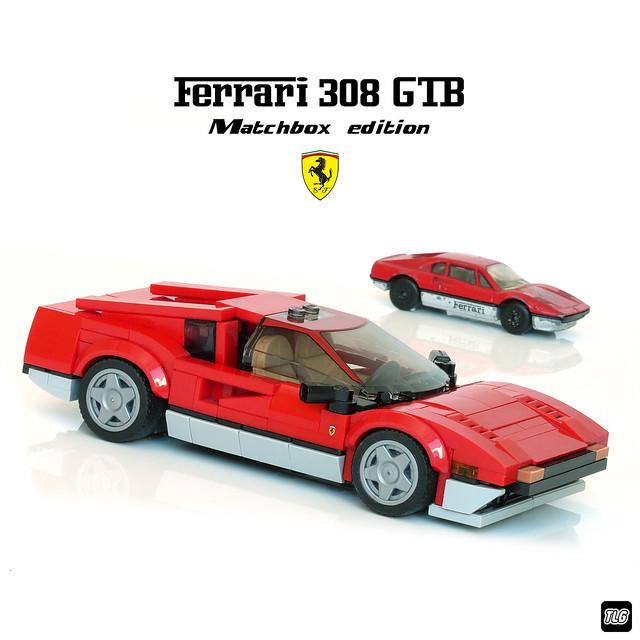 Ferrari 308 GTB - Matchbox edition 01