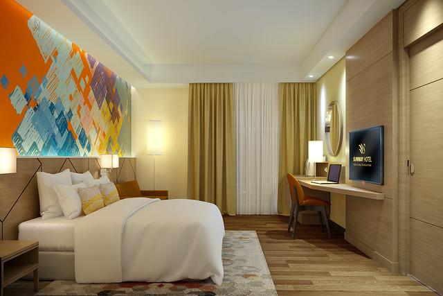 Sunway Hotel Big Box - Deluxe King Room 1