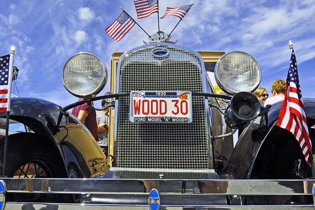 1930 Ford Model A Station Wagon