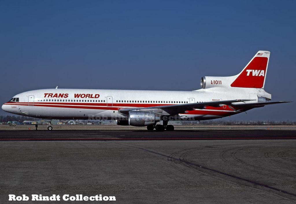 TWA L1011-100 N8034T