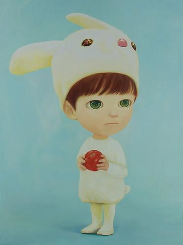 Apple. From Artist Spotlight: Mayuka Yamamoto