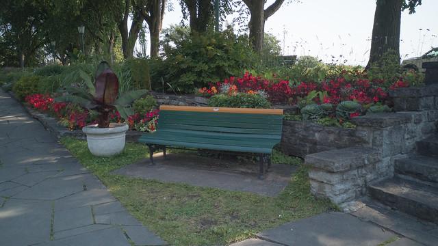 Jardin Jeanne-d'Arc, Plaines d'Abraham, Québec, Canada - 111712
