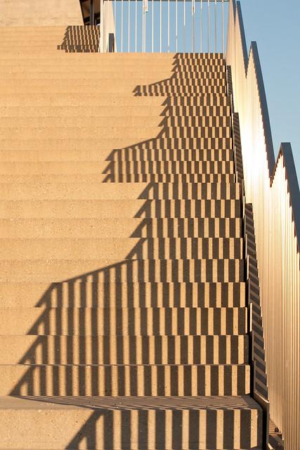 Stairs to Musée cantonal des Beaux-Arts Lausanne (TdS)