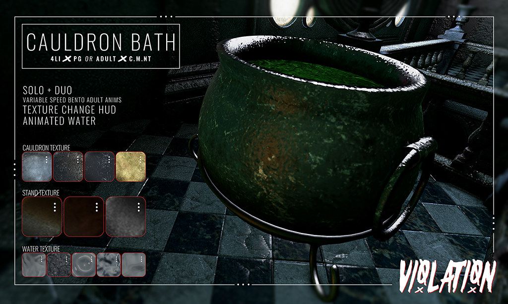 Violation – Cauldron Bath AD