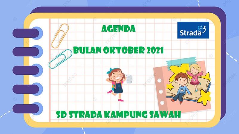 Agenda Kegiatan Oktober 2021