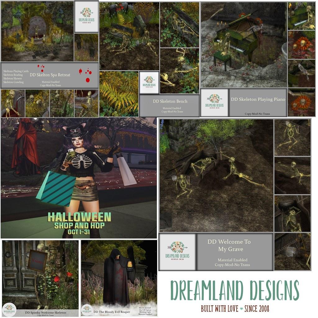 Dreamland Designs Shop and Hop Original ad