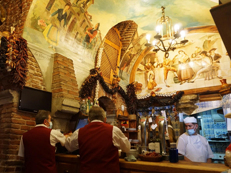 Madrid old restaurants