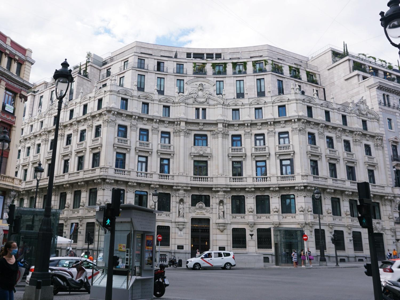 Madrid Spain architecture