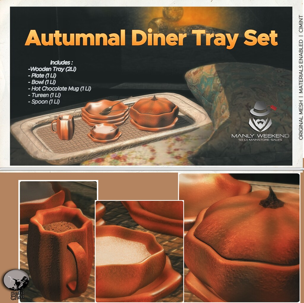 Petit Chat : Autumnal Diner Tray @ Manly Week-end