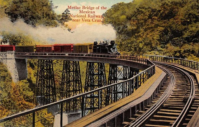 Metlac Bridge of the Mexican National Railway ...