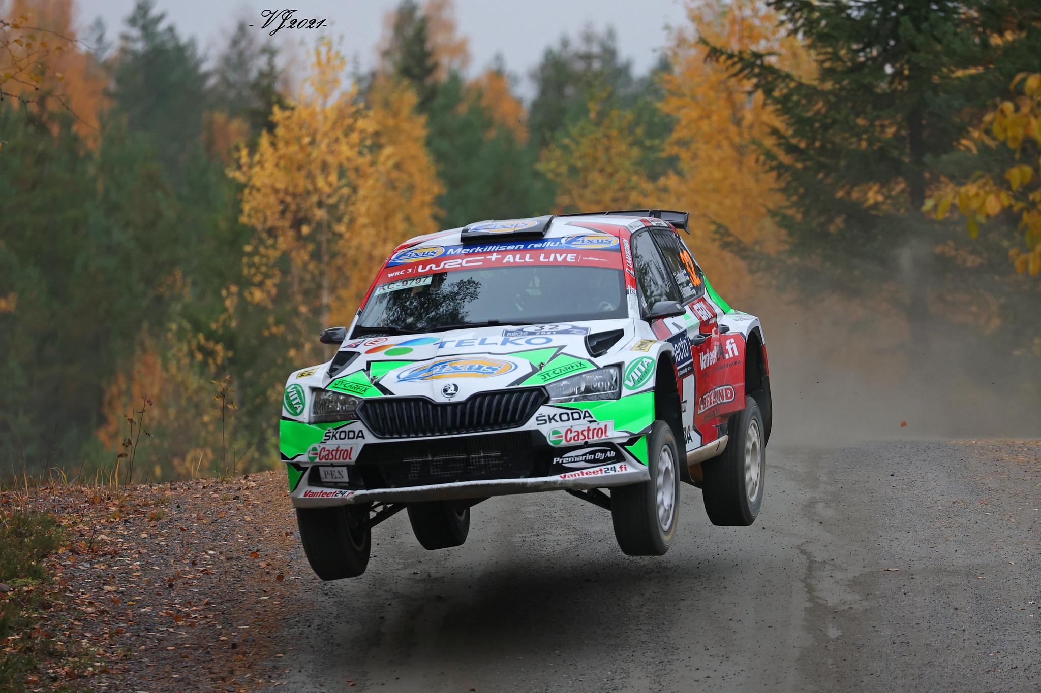 Emil Lindholm, Skoda Fabia R5