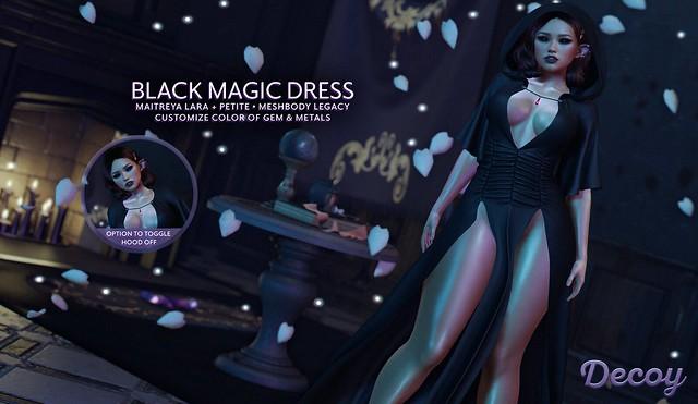 Decoy Black Magic Dress + Giveaway