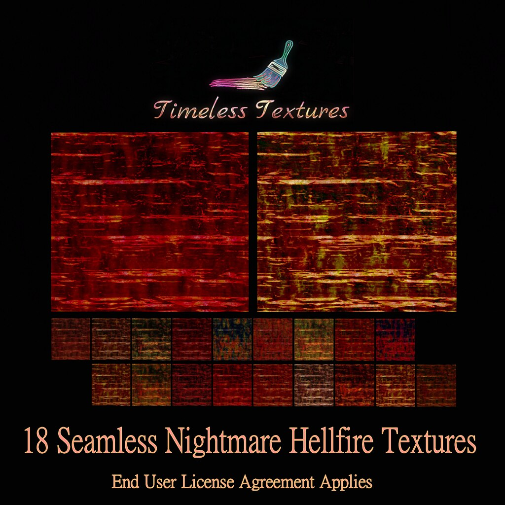 TT 18 Seamless Nightmare Hellfire Timeless Textures