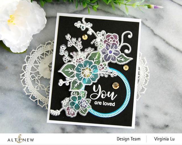 Altenew-Floral Halos Stamp Set-Floral Halos Die Set-003