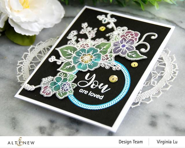 Altenew-Floral Halos Stamp Set-Floral Halos Die Set-002