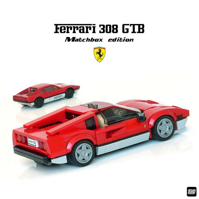 Ferrari 308 GTB - Matchbox edition 02