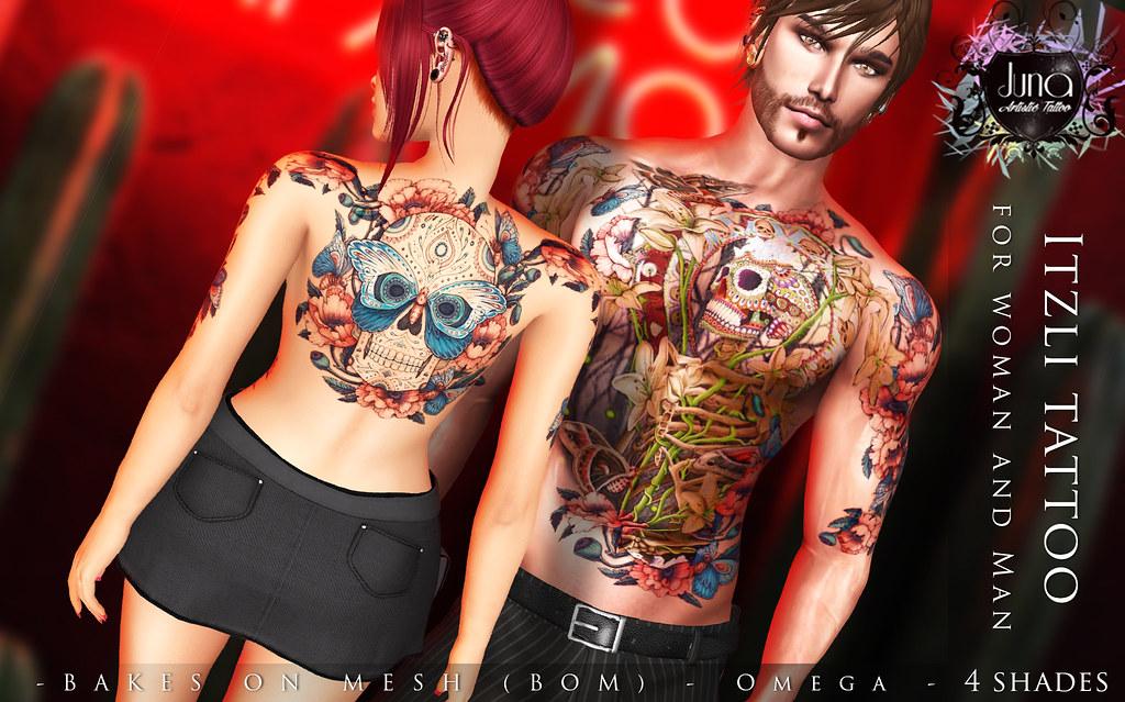 Itzli tattoo Unisex