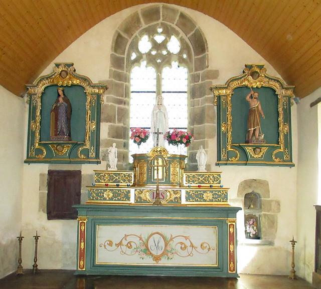 Chœur Chapelle Ste-Brigitte Ploumagoar