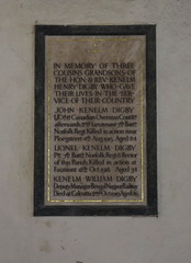 three cousins, grandsons of the Hon & Rev Kenelm Henry Digby