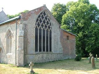 east window and Coke mausoleum