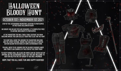 AsteroidBox. Halloween Bloody Hunt @ The Mainstore