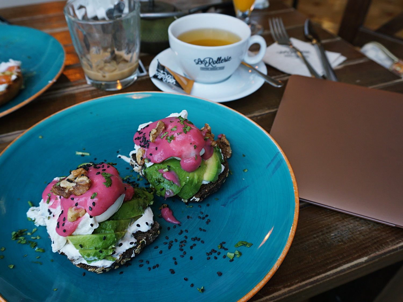 La Rollerie avocado toast