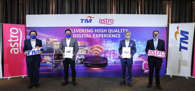 Tm Dan Astro Berkolaborasi Menyediakan Pengalaman Digital Berkualiti Tinggi