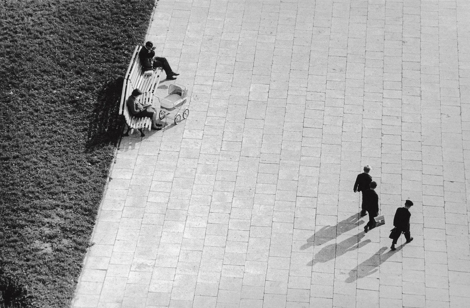 11. 1961. Улица Вильнюса с крыши