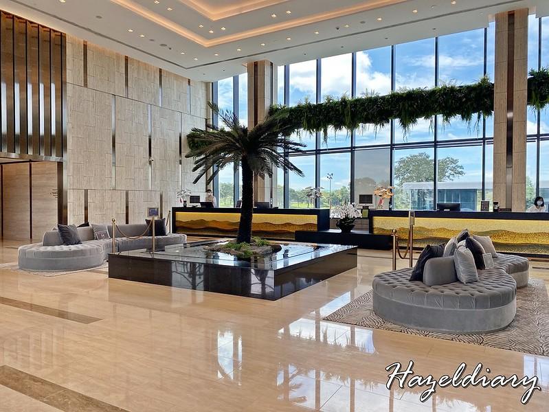 dusit thani laguna singapore hotel lobby