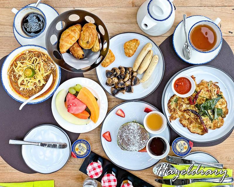 dusit thani laguna singapore hotel Breakfast
