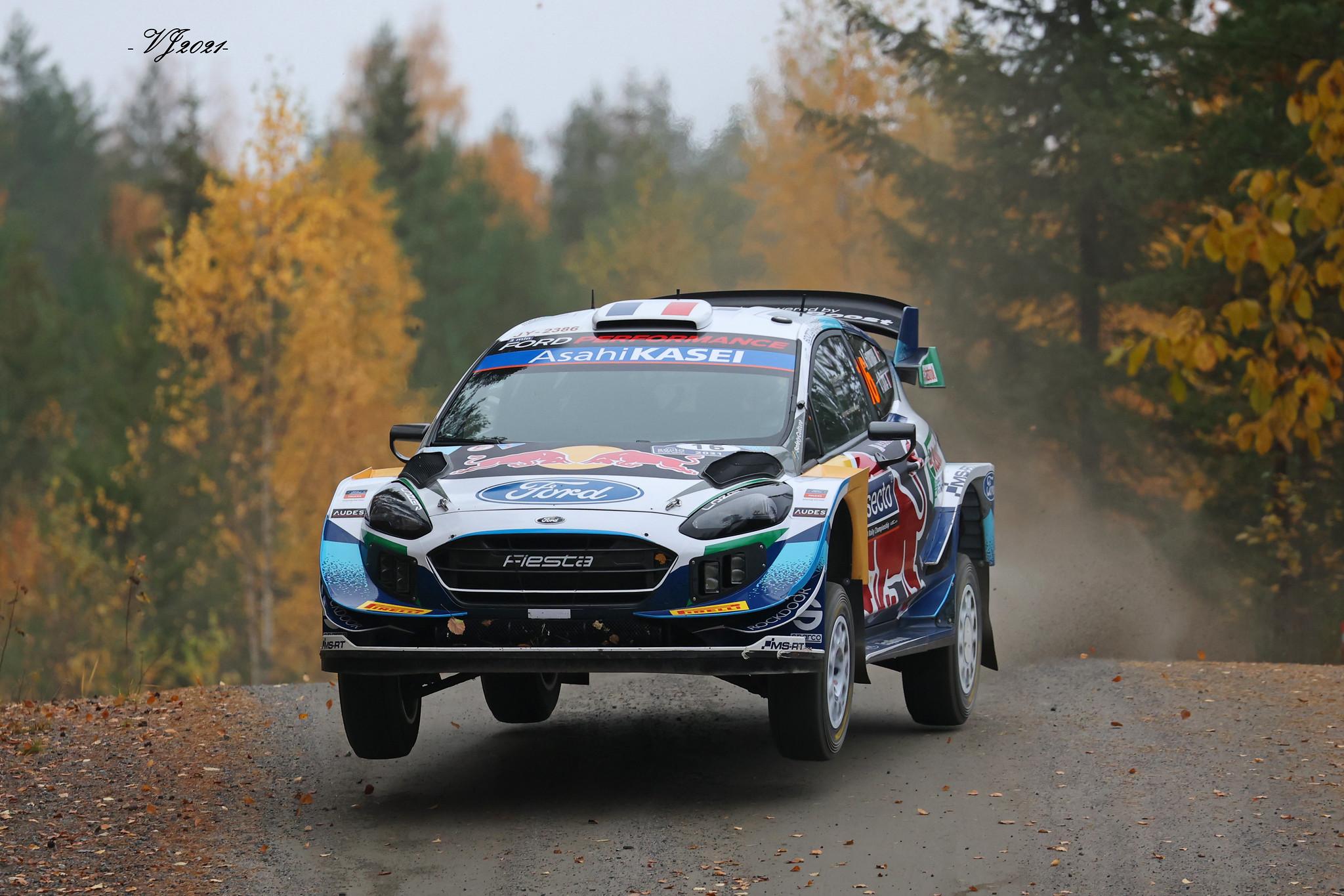 Adrien Fourmaux, Ford Fiesta WRC