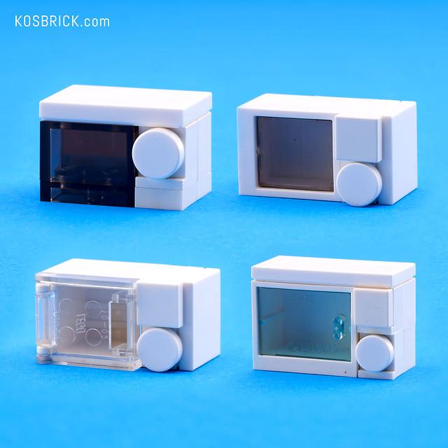Lego Microwave (Instruction Tutorial)