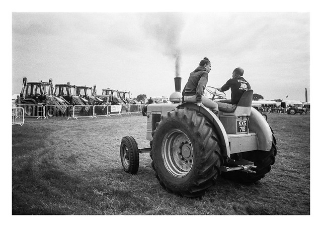 Two on a tractor