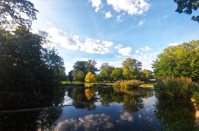 Pumpsee im Rosensteinpark