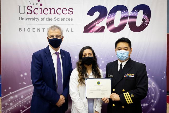Philadelphia College of Pharmacy White Coat Ceremony 2021