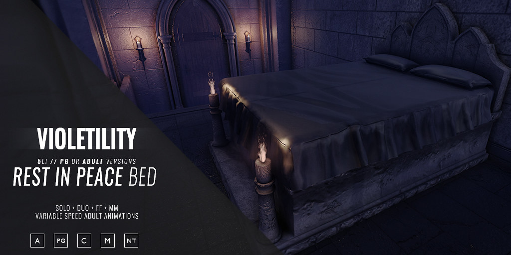 Violetility – Rest in Peace Bed